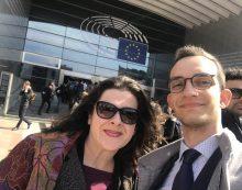 Una delegazione di Aprilia nel cuore dell'Europa