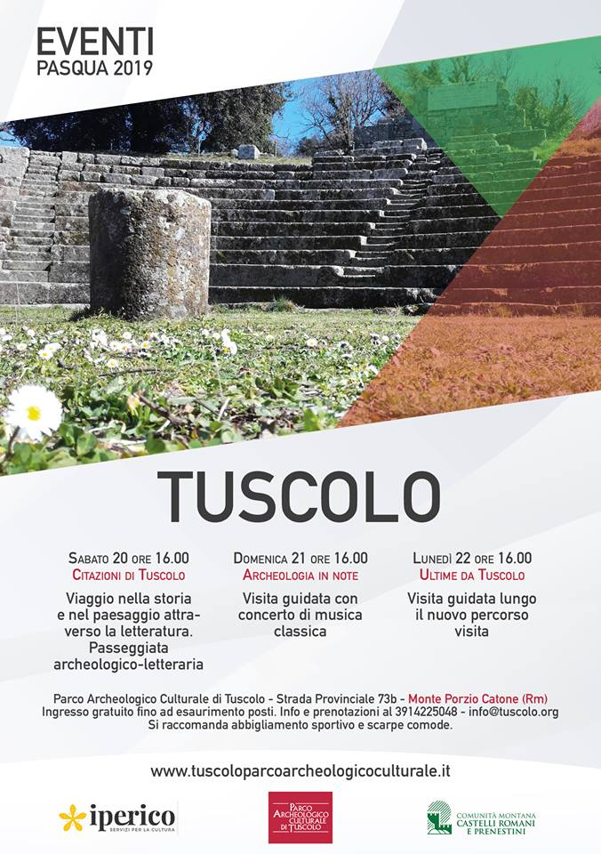 Fine Settimana Di Pasqua Al Tuscolo Con Visite Guidate E