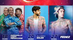 Al Festival Sound Best: Panariello, Pieraccioni, Soler e Fedez