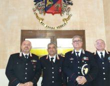 """Dieci lustri di carriera militare: consegnata la """"Medaglia Mauriziana"""" a 12 Carabinieri della provincia di Latina."""
