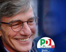 Elezioni europee: l'eurodeputato uscente del Pd, David Sassoli, questo giovedì in provincia di Latina.