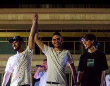 """Diego Liparulo, in arte Rubber, vince la prima edizione del contest """"Aprilia Summer Freestyle""""."""