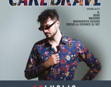 """""""Rock in Roma"""": questo sabato sera l'atteso concerto di Carl Brave!!!"""