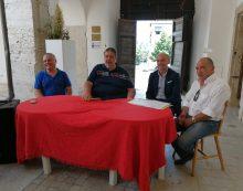 """Conferenza del sindaco Carturan: """"Per i problemi di Roma, Cisterna non sa dove mettere i rifiuti organici""""."""