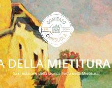 """LATINA – """"Festa della Mietitura"""" di Chiesuola"""". Ecco il programma sino al prossimo 15 Luglio."""