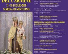 MINTURNO – Questo fine settimana la Festa della Madonna del Carmine 2019.