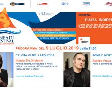 """POMEZIA – '""""Eneadi Festival"""": oggi ospiti la politica Nunzia De Girolamo e lo scrittore Aurelio Picca."""