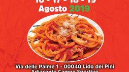 """""""Lido dei Pini in Festa"""" questo weekend la terza edizione della """"Sagra dell'Amatriciana""""."""