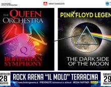 """Rock Arena """"Il Molo"""" a Terracina, protagonisti  Queen e Pink Floyd"""