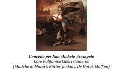 """Il coro Liberi Cantores di Aprilia venerdì 27 Settembre protagonista al """"Concerto per San Michele Arcangelo""""."""