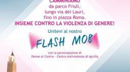#ledonnenonsitoccano: questa domenica al Parco Friuli di Aprilia le prove del flash-mob che si terrà poi il 27 Settembre.