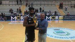 """La Latina Basket seconda classificata alla 74esima edizione del """"Torneo delle Rose""""."""