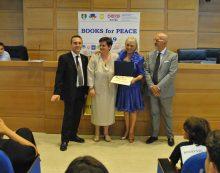 Books for Peace, 3 pontini tra i vincitori