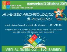"""""""Una domenica ricca di storie, divine"""", al Museo di Priverno"""