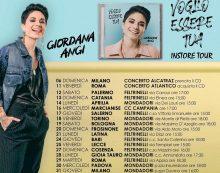 """Questo lunedì 14 ottobre Giordana Angi alla """"Mondadori"""" di Aprilia per il suo """"Instore Tour""""."""