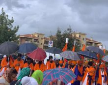 Nagarkirtan, indiani in festa ad Aprilia