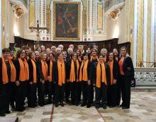 Entusiasmante concerto del coro Liberi Cantores di Aprilia a Boville Ernica. Il 22 Novembre si vola a Matera.