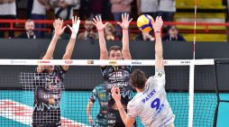 Superlega, Top Volley Cisterna cede in tre set all'Allianz Milano
