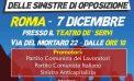 Verso l'assemblea nazionale unitaria delle sinistre di opposizione a Roma, adesioni da Aprilia