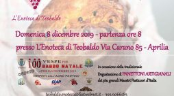 Ad Aprilia domenica 8 dicembre Babbo Natale in Vespa