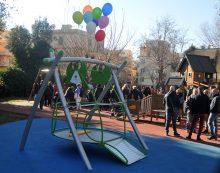 Inaugurata la nuova altalena inclusiva  al Parco di Villa Adele, ad Anzio.