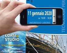 """""""Vedere… oltre"""": oggi nuovo Open Day all'Istituto Nautico """"Caboto"""" di Gaeta."""