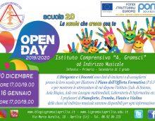 """Nuovo Open Day giovedì 16 gennaio anche all'Istituto """"Gramsci"""" di Aprilia."""