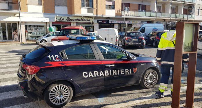 Assalto armato all'Ufficio Postale di Largo Marconi, ad Aprilia. Indagano i Carabinieri.