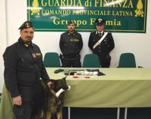 Blitz antidroga dei Carabinieri e della Finanza a Minturno: coppia in manette, beneficiava del reddito di cittadinanza.