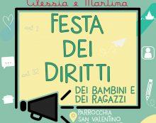"""Questo venerdì a Cisterna la """"Festa dei Diritti dei Bambini e Ragazzi"""" in memoria di Alessia e Martina Capasso."""