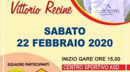 """Oggi a Velletri un torneo in memoria di Vittorio Recine. In campo anche i """"pulcini"""" della Lazio e della Roma."""