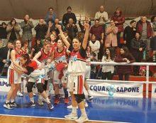 Basket femminile, serie B: la Virtus Aprilia, capolista, questa domenica gioca in casa della Roma XVI.