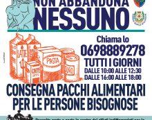 """Emergenza coronavirus, il messaggio del sindaco di Nettuno ai cittadini in difficoltà: """"nessuno verrà lasciato solo""""."""