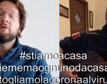 Suonare insieme ma da lontano, i video del musicista pontino Andrea Montecalvo