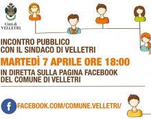 A Velletri oggi nessuno nuovo caso Covid-19: i positivi restano 23. Il sindaco Pocci alle 18.00 in diretta Facebook.