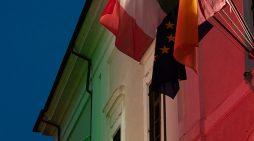 Festa della Repubblica: i luoghi simbolo di Albano si illuminano col Tricolore. Le FOTO