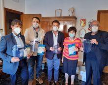 Il Rotary Club Latina San Marco dona mascherine e visiere all'ordine dei medici della provincia.