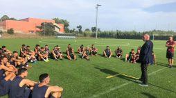 """Calcio, l'Aprilia inizia l'allenamento per la prossima stagione. Pezone: """"Quest'anno voglio i fatti"""""""