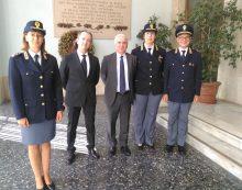 Il nuovo Prefetto di Latina visita forze dell'ordine e di polizia