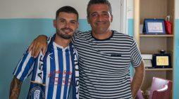 Calcio, per l'Anzio firma Simone Battaglia