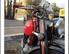 """Questo sabato a Nettuno farà tappa la """"Brescia-Napoli"""", classica in moto d'epoca."""