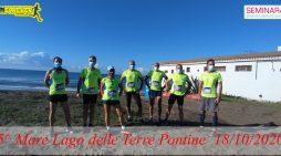 """La A.S.D. Runforever Aprilia alla quinta edizione della """"Mare Lago delle Terre Pontine""""."""