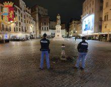 Prima notte di lockdown parziale: ecco il bilancio dei controlli della Polizia nella Capitale. Le FOTO