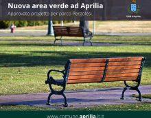 Ad Aprilia al via l'iter per la realizzazione del Parco Pergolesi, al Quartiere Primo.