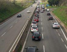 Rimosso l'incidente sulla Pontina tra Casalazzara e Pomezia. Auto in coda per 3 ore verso la Capitale.
