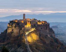 """Civita di Bagnoregio a Patrimonio Unesco. Il presidente della Regione, Zingaretti, annuncia: """"Arriva la candidatura ufficiale!""""."""