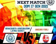 Basket maschile serie A2: : il Latina Basket domenica riceve l'Unieuro Forlì.