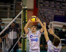 Seganov, della Top Volley Cisterna, in Israele per il debutto con la Bulgaria nelle qualificazioni al campionato europeo.
