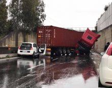 APRILIA – Incidente sulla Pontina, strada riaperta