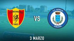 Calcio di serie D: questo mercoledì si gioca il recupero Recanatese-Aprilia. Latina in casa del Muravera.